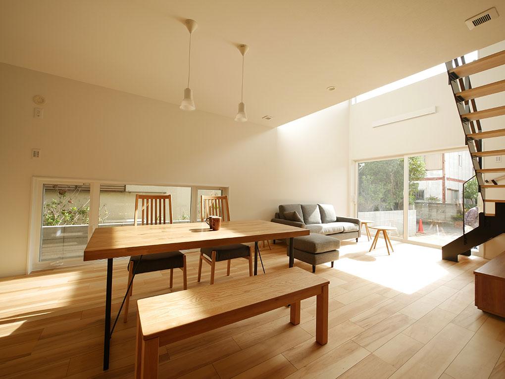 ようこそ、陽だまりの中の高性能住宅へ