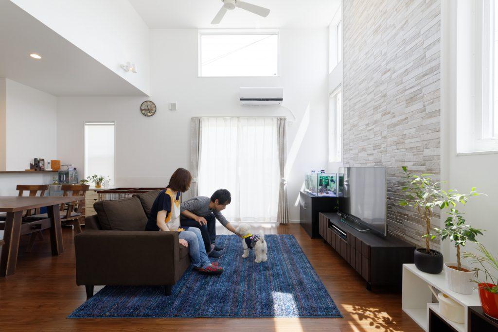 少しのエアコンで年中快適に暮らせる高断熱のお家
