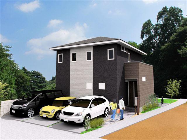 岡山市北区西崎2丁目 売地・新築プラン
